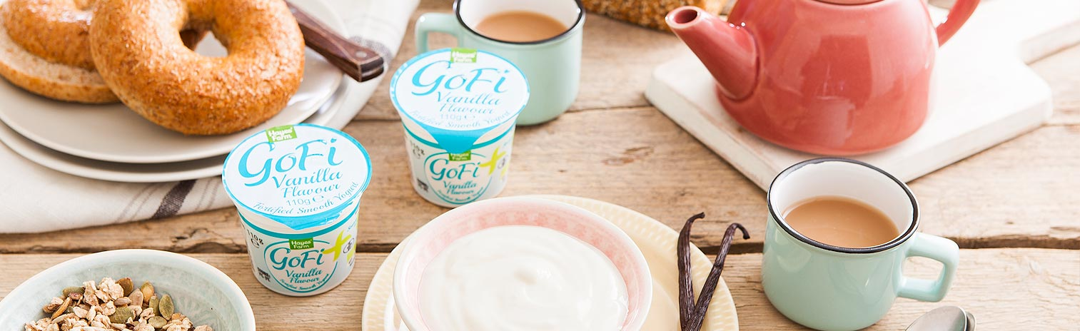 Gofi Vanilla Yogurt